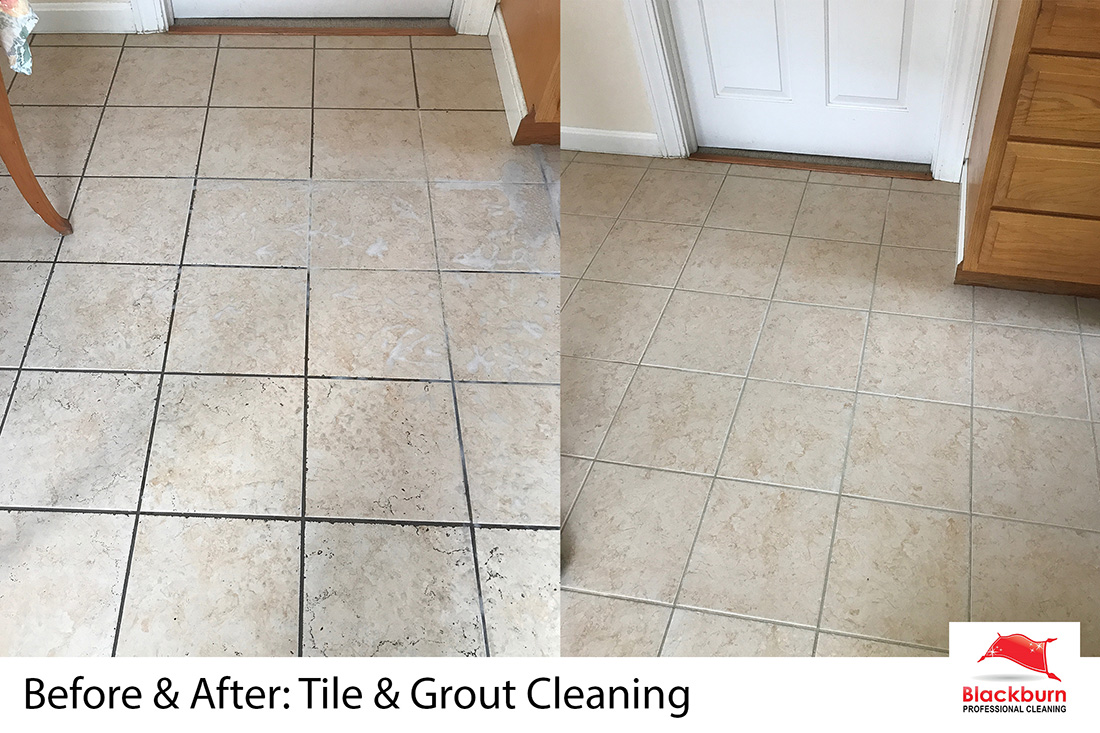 Clean tile makes a happy homeowner